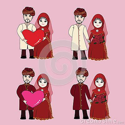 Thai Wedding Animation by Muslim Wedding Stock Vector Image 68164700