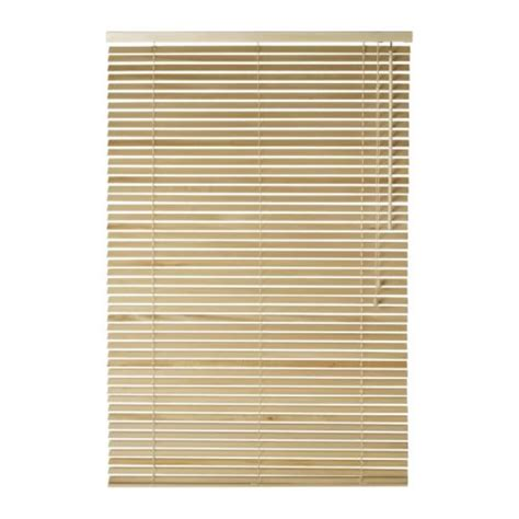 Ikea Blinds Sizes ikea lindmon wooden venetian blinds new 10 sizes ebay