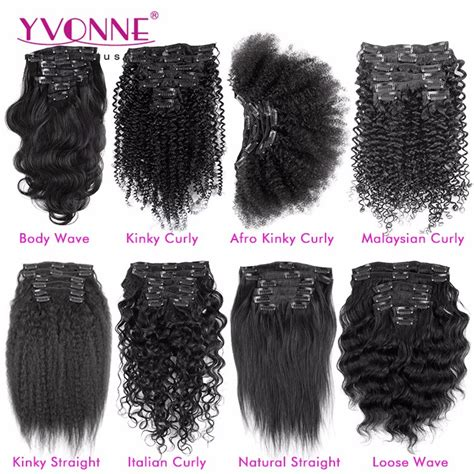 different types of weave curls different types of curly weave hair extensions clip in