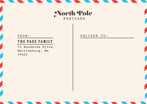 airmail postcard template cards ragedesign