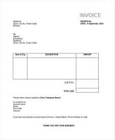 business invoice templates invoice template 10 free word pdf document downloads