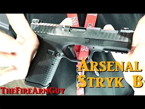 arsenal zve arsenal stryk b shot show 17 thefirearmguy youtube