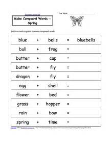 compound words worksheet grade 1 scalien