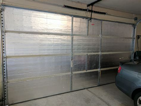 Insulating A Garage Door Insulation Door Garage Door Insulation