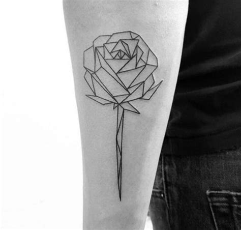 tattoo geometric rose 17 best ideas about geometric rose tattoo on pinterest