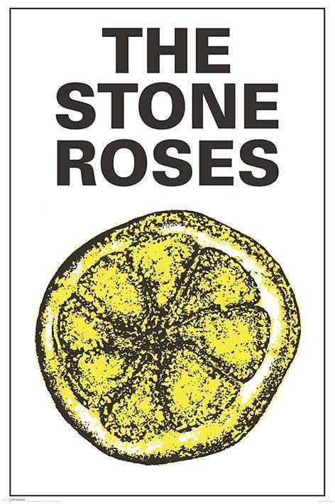 stone roses lemon tattoo roses posters roses album lemon poster