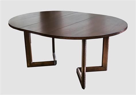 henredon dining table frank lloyd wright for henredon dining table with chairs at 1stdibs