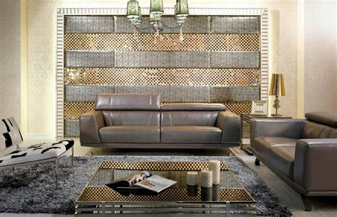 modern metallic grey leather sofa set leather sofas