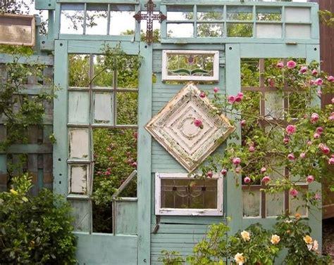 Sichtschutz Fenster Im Rahmen by Garten Sichtschutz Mit Vintage Flair T 252 R Rahmen Mit