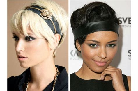 hairstyles for short hair using headband headbands for short hair cool and spicy
