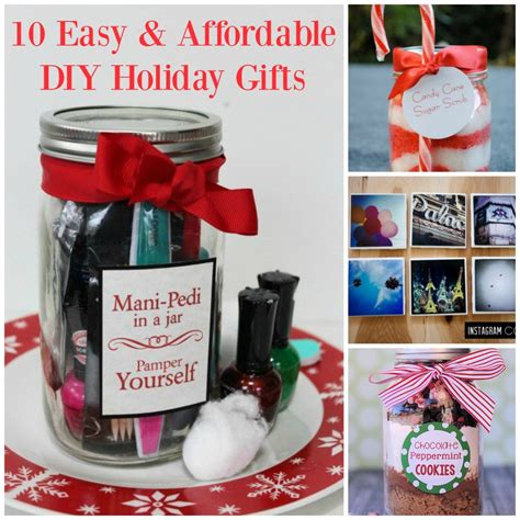 10 easy christmas gifts to make 10 diy gifts