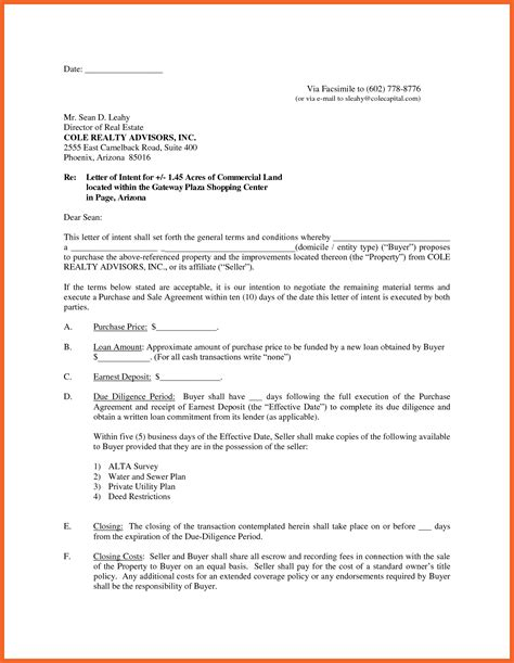 Letter Of Intent To Sell House Template Collection Letter Template Collection Letter Of Intent To Sell A Business Template