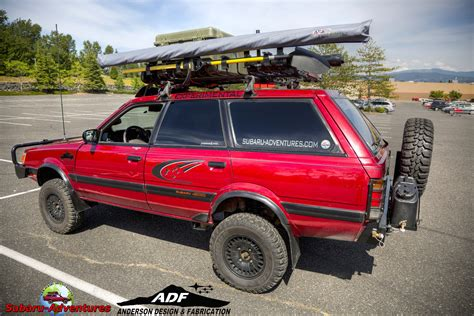 subaru loyale offroad 6 lift ea82 build by design