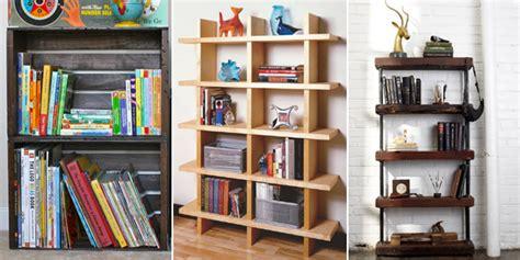 cheap diy bookshelves 12 cheap and attractive diy bookshelves you can build yourself