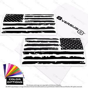 jeep flag decal distressed us flag vinyl car decal sticker jeep