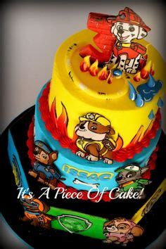 can paw patrol boat go in water 161 best paw patrol cakes images birthday cakes paw