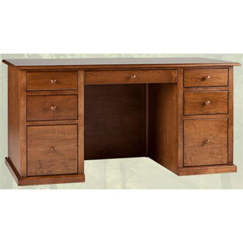 Solid Wood Home Office Desks Solid Wood Home Office Desk Traditional Pedestal Furniture Mattress Store In Langley