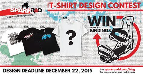 design contest video spark r d annual t shirt design contest spark r d