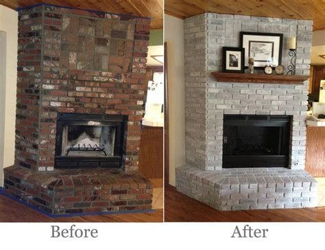 17 best ideas about painting a fireplace on