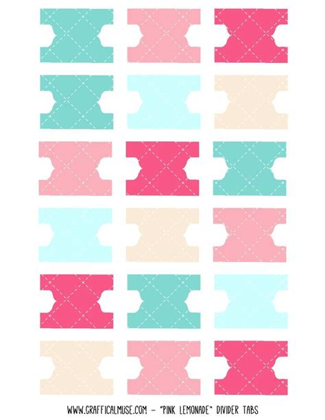 tabs template 36 best printables tabs dividers images on