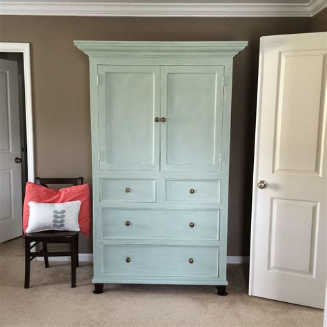 How To Paint A Wooden Wardrobe White by The Lowcountry Armoire Painted With Sloan