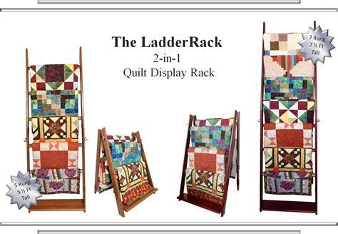 Quilt Display Stands by Ladderrack Quilt Display Racks