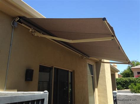 retracting awning retractable awnings installed in scottsdale az