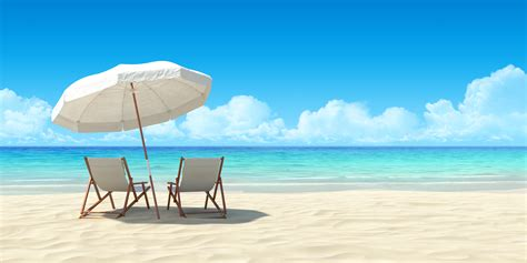 sand beaches chaise lounge and umbrella on sand beach the spa at