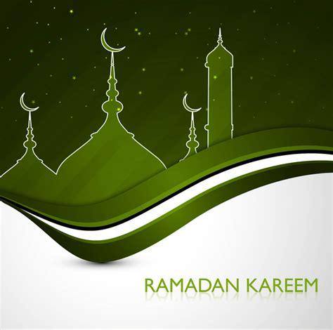 ramadan kareem greeting card template ramadan kareem greeting card green colorful design free