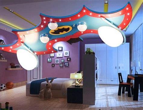 batman ceiling light deco led bedroom playroom new
