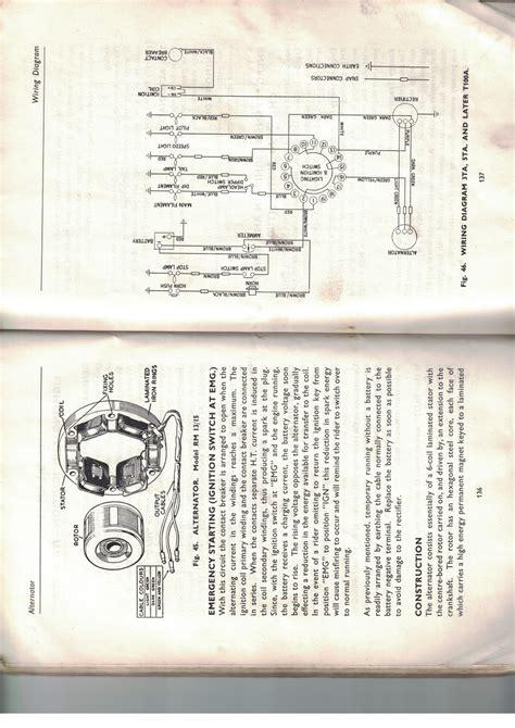 62 t100ss wiring diagram 6v w distributor triumph forum