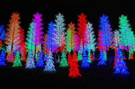 neon christmas trees by cherryhana88 on deviantart