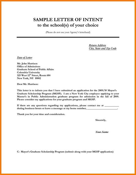 Business Letter Format Letter Of Interest 4 Exles Of Letters Of Interest For A Mailroom Clerk