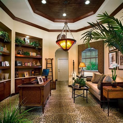 ways   tropical   relaxing  trendy home office