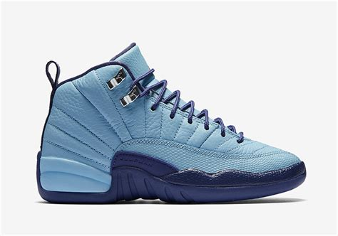 light blue air jordans air 12 gs purple dust release date sneaker