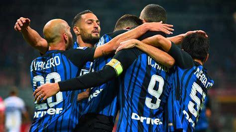 Middlayer Inter Prematch 2017 18 inter sdoria 3 2 sintesi e tabellino s news 24