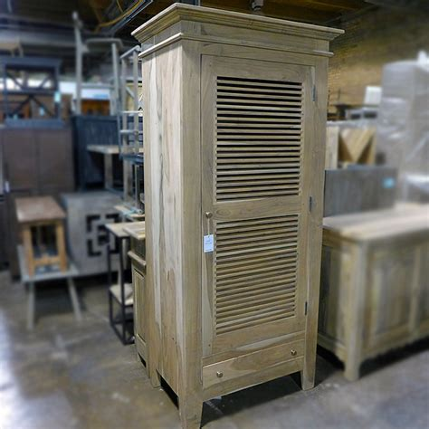 Louvered Cabinet by Louvered Cabinet Nadeau Chicago
