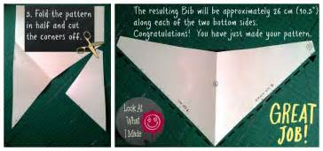 How to make a baby bandana bib 4 jpg