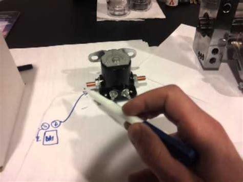 diy starter remote mount solenoid easy step  step