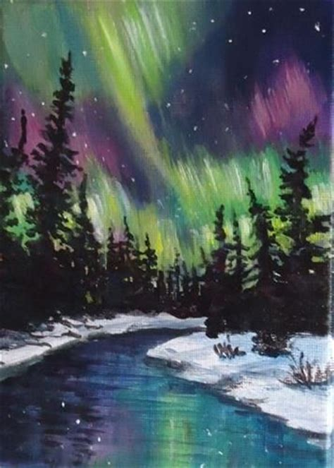 northern lights painting for sale 1000 ideas about artworks on watercolor