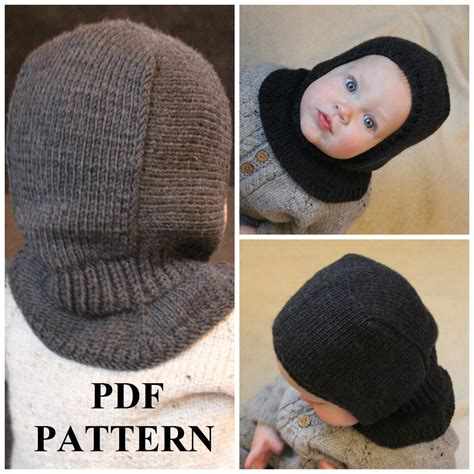 balaclava knitting pattern child knitting pdf pattern balaclava pattern balaclava knitting