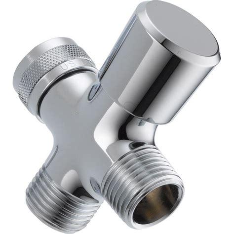 diverter for bathroom delta 3 way shower arm diverter in chrome u4923 pk the