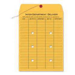 Interoffice Mail Envelope Template by Quality Park Standard Style Inter Dept Envelopes