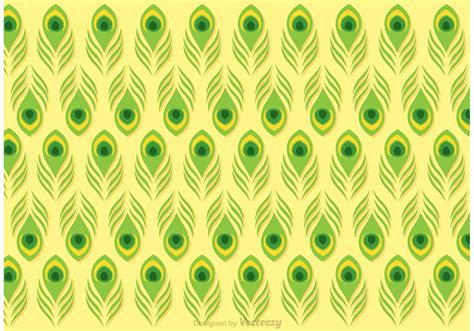 peacock pattern vector lime green peacock feather pattern vector download free