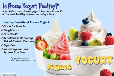 Yogurt My Healthy is frozen yogurt healthy