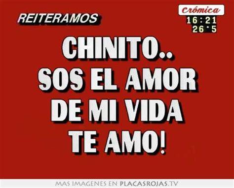 imagenes te amo chinito chinito sos el amor de mi vida te amo placas rojas tv