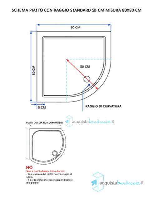 piatto doccia semicircolare 70x70 piatto doccia 90x90 cm semicircolare altezza 5 cm