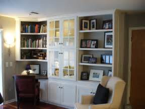 built cabinets: built in wall cabinets transform a blank wall by adding built in