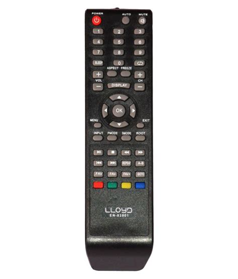 Remote Tv Led Lcd Polytron buy r shop en 83801 tv remote compatible with lloyd led lcd tv at best price in india