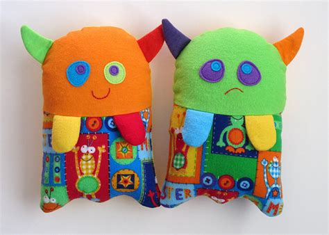 pattern sewing toys stuffed monster toy pattern pdf sewing pattern for plush